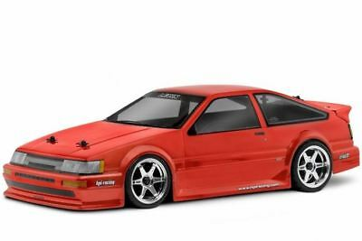 HPI Racing RC Car Toyota LEVIN AE86 Clear Body Shell 190mm 17214