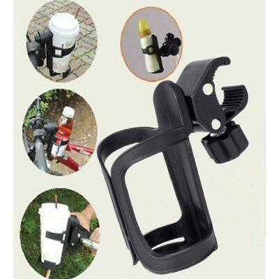 360 Degree Baby Stroller Parent Console Organizer Bottle Cup Holder Adjustable