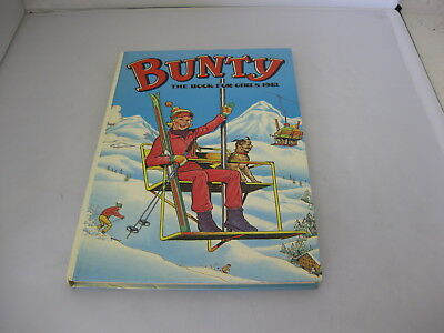 Bunty Annual 1981 Retro/Vintage Girls Hardback