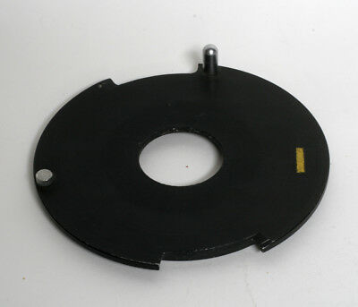 Used De Vere Lens Board 32mm Unthreaded
