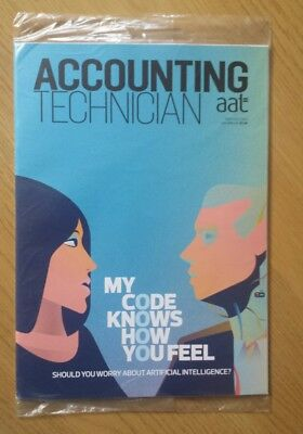 New Accounting Technician AAT Magazine Sept / Oct 2017.  Sealed. Tax Audit