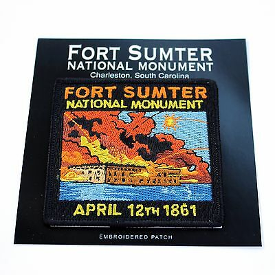 Fort Sumter National Monument Souvenir Patch South Carolina Park Civil War