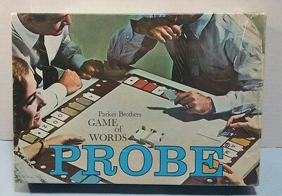 Probe Parker Brothers Game of Words Brand New Sealed 1964 Ships Next Day!