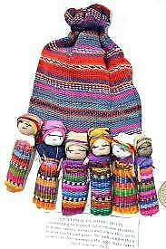 Worry Dolls Bag Of 6 Lge