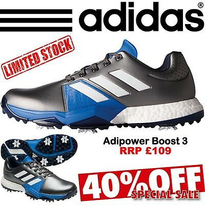 Adidas Golf Shoes Adipower Boost 3 Mens Golf Shoes Waterproof Golf Shoes