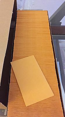 Uline S-6285 2.5 X 4.25 Coin Envelopes 10 BOXES 5000 Count gummed