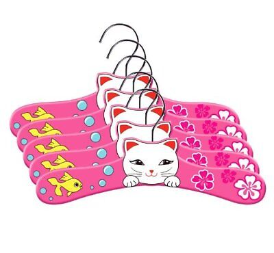 Kidorable Lucky Cat Toddler Hanger Set, Medium 5 643762003522 KIDORABLE