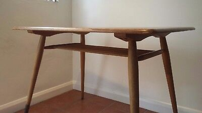 Vintage Ercol Breakfast Table with Magazine Rack (for Restoration)
