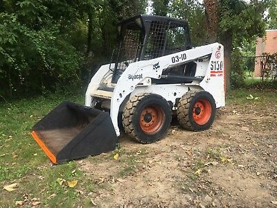 Bobcat S 150 Skid Steer loader 2700 hours ready to work, no problems or leaks