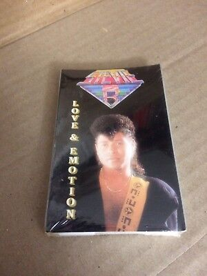 Stevie B. Love And Emotion  Factory Sealed Cassette Single Dfs