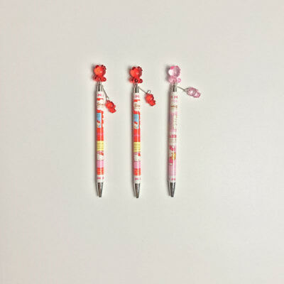 Sanrio Hello kitty 1pc Ball Point Pen Pink/Red
