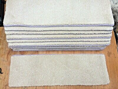 27	x	8.50	inches	(	69	x	22	cm) STAIR PADS / TREADS BEIGE half inch thick  #3303