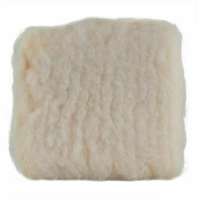 "Premium Thick Synthetic Wool Wash Pad 9""x9"" - Double Sided, Safe Wash, Not Mitt"