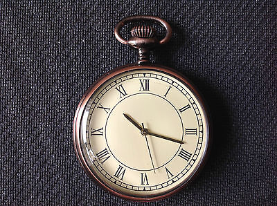 Pocket Watch No.53,brushed Copper Effect, Collectable