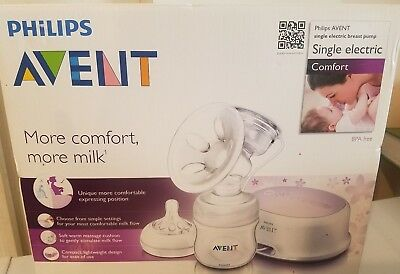 Philips Avent Comfort Breast Pump Single Electric New In Box FAST FREE SHIPPING