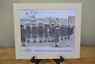 Wrns100 'Wrns Then And Now' 1917-2017 -  Limited Edition Original Painting