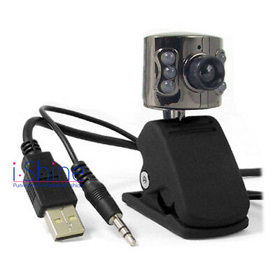 Computer PC USB 2.0 5M 6LED PC Camera HD Webcam Camera Web Cam