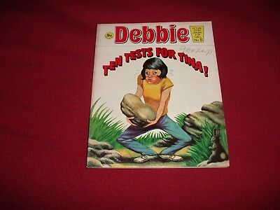 RARE VERY EARLY DEBBIE  PICTURE STORY LIBRARY BOOK  from 1970's: never been read