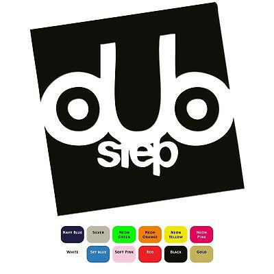 Dubstep Music Iron On T-Shirt  Clothes Heat Transfer Vinyl Sticker HTV Decal