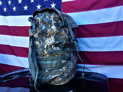 Us Army Molle Ii Large Rucksack Backpack **cleaned** Ready To Use