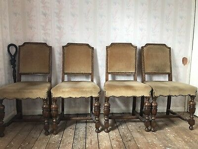 Antique Chairs x 4