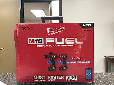 Milwaukee M18 Fuel 2 Tool Combo Kit with One Key - Model # 2796-22