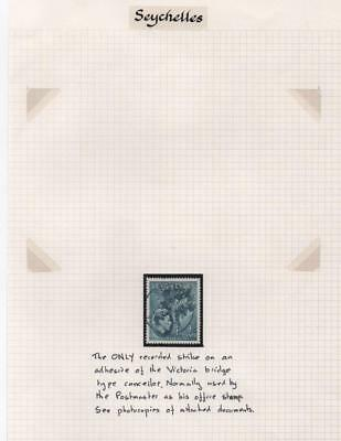 SEYCHELLES: Cancel Interest - Ex-Old Time Collection - Album Page (6749)