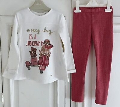 MAYORAL *GIRLS Designer Spanish Dress TOP & TROUSERS OUTFIT (5T) 4 - 5 YEARS