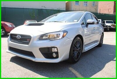 2016 Subaru WRX  2016 Subaru WRX STI Low Miles Turbo Manual AWD Sedan Premium