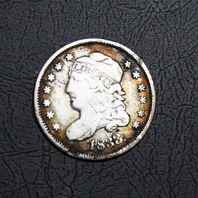 1833 Capped Bust Silver Half Dime -PRICE REDUCED-