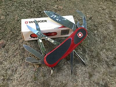 The Wenger Swiss Army Knife evolution 16 evogrip