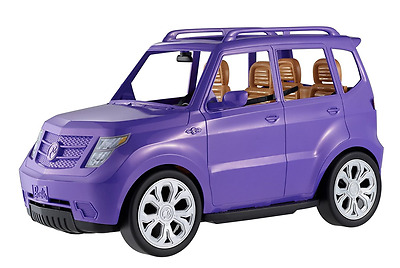 Barbie Modern Purple Toy Sport Utility Vehicle SUV Car