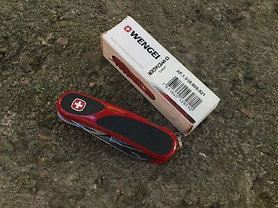 The Wenger Swiss Army Knife evolution 18 evogrip
