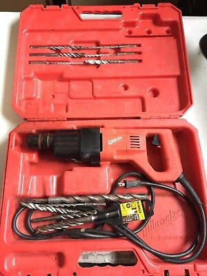 "Used Milwaukee 1 1/8"" SDS Plus Rotary Hammer, Model 5368-21"