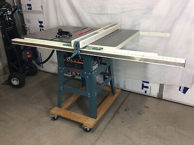 "Jet JWTS-10JF 10 inch Table Saw With 48""Extension Table and Mobile Base"
