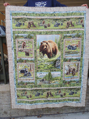 Bear Country Quilt,  52x68