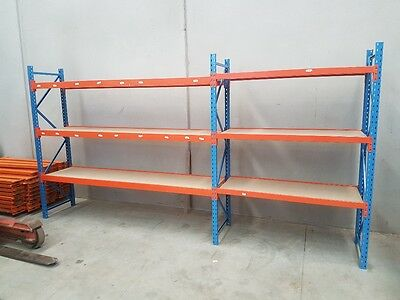 Long span racking for warehouse, garage, shop, home, shed