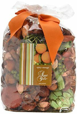 Scent of York sybbo Big Bag Pot Pourri Spicy Pot Pourri Arancione 16 X (s8e)