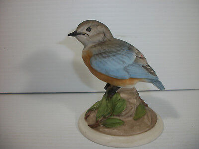 Boehm Baby Blue Bird Porcelain Figurine 442 Made in USA
