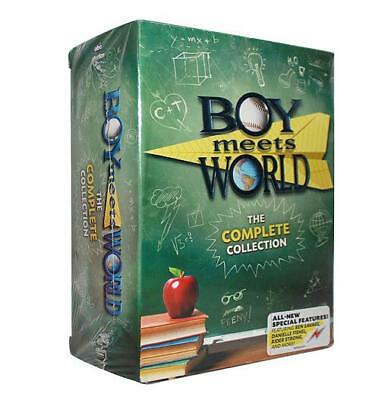 8Boy Meets World: The Complete Series Collection (DVD, Seasons 1-7, 22-Disc Set)
