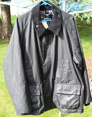 New w/Tags Men's Barbour 'Bedale' Waxed Cotton Jacket, Size 48, Made in England