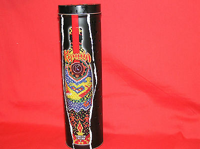 Kahlua Metal Can Tin Limited Edition 2 Lighted Lights Up Lamp Red Bar