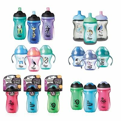 Tommee Tippee Cups Sippee, Insulated Straw, Sports Bottle BPA FREE