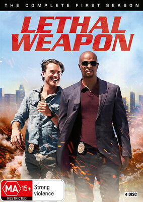 Lethal Weapon: S1 Season / Series 1 DVD R4