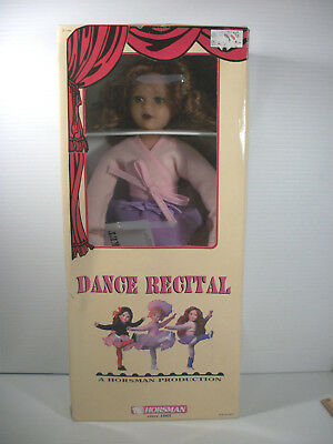 Horsman Ballerina Doll Curtain Call Kids By Robin Woods Cricket ©1995 In Box