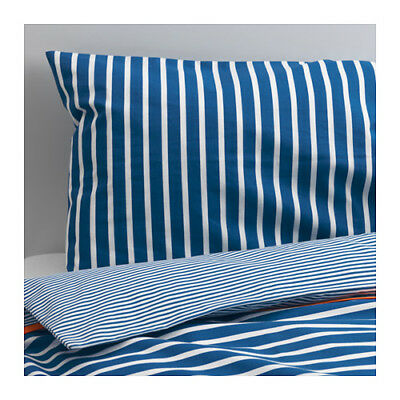SKAMTSAM Crib duvet cover/pillowcase, dark blue, *NEW* *FREE Shipping*