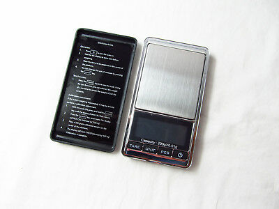 Electronic Pocket Mini Digital Gold Jewelry Weighing Scale 0.01g Weight 200g