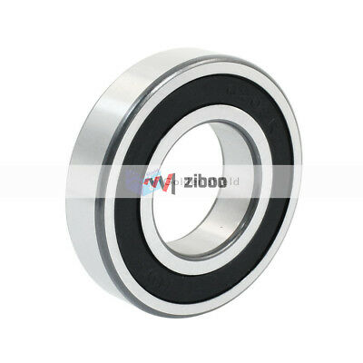 6208-2RS 40mmx80mmx18mm Double Rubber Seals Groove Radial Ball Bearing
