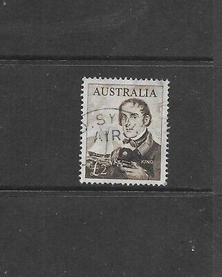 Stamps Aust Predecimal 1963 Two Pound King Fine Used