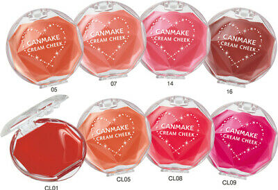 Made in JAPAN Canmake Tokyo cream blush cheek Gel type cheeks / 9 colors